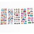 Дети Моды Пузырь Наклейки Дневник Автомобилей Ноутбук Наклейки Для Детей Девочек и Мальчиков Классические Игрушки Label Украшения Подарок Ребенку WB585