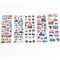 Moda niños Burbuja Pegatinas de Coches Etiqueta Engomada del Cuaderno Diario Para Niños Girls & Boys Juguetes Clásicos WB585 Etiqueta Decoración Del Regalo Del Bebé