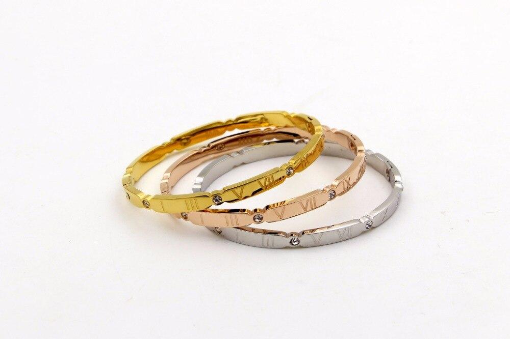c03f203539fe El esta temporada. de en. Comprar Joyería de moda de oro color de rosa  pulsera para los hombres par clásico pulsera de color oro regalo DB01  Online Baratos.