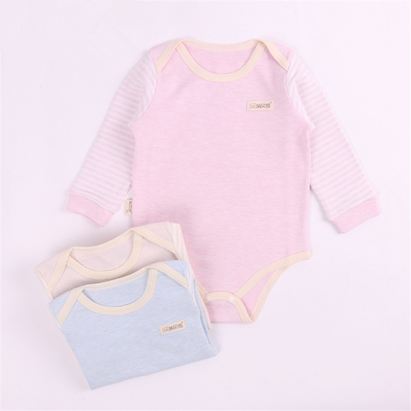Baby Pajamas Newborn Boys Girls Long Sleeve Rompers Clothing Children 100% Natural Cotton Jumpsuits Infant Clothes