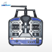 Flysky FS-T4B AFHDS 2.4GHz 4CH Radio4 Channel Transmitter + R6B Receiver for RC Airplane