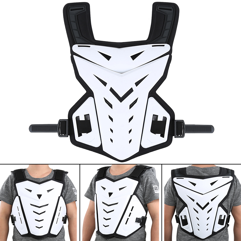 Motorcycle Chest Protective Gear Waistcoat RC Body Armor Outdoor Sport Guard Jacket 5 Color Free Size Safe Motocross Vest in Armor from Automobiles Motorcycles