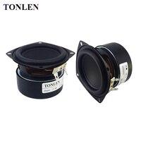 TONLEN 2PCS 3 Inch Full Range Speaker 4 Ohm 8 Ohm 25 W HIFI Wireless Bluetooth