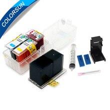 Colorsun refill kit for canon 140 141 ink cartridge MG4110 MG4140 MG4210 MX371 MX391 MX434 MX451 M521 smart