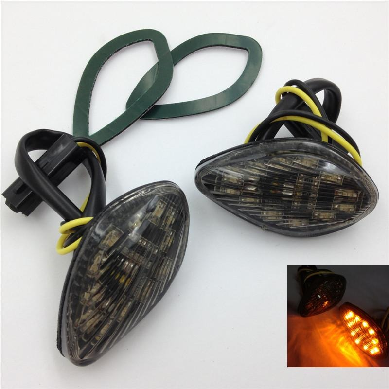 Aftermarket free shipping motorcycle parts  Smoke Flush Mount LED Turn Signals Light For  Honda CBR 600 F4i 2001 2002-2007 aftermarket free shipping motorcycle parts custom aluminium cluctch cover for 2004 2005 2006 2007 honda cbr 1000rr black
