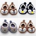 Cartoon Winter Baby Shoes Fleece Kids Baby Girl Boy Anti-slip Shoes Newborn Baby First Prewalker 0-3T