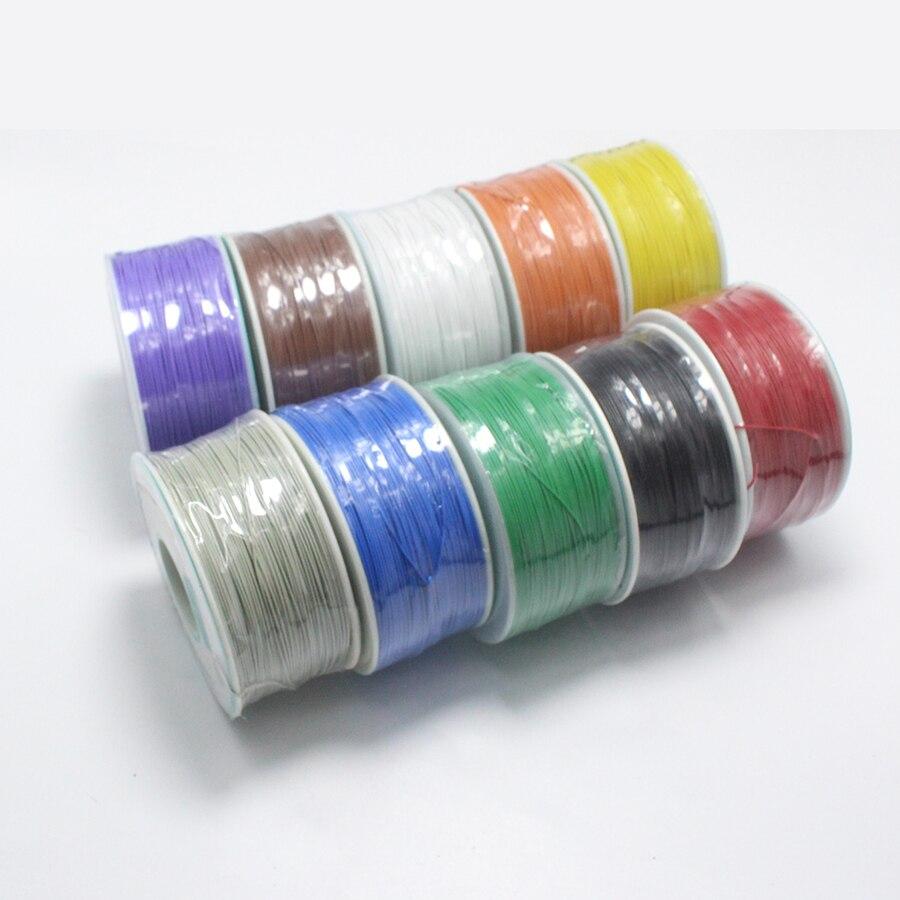 EClyxun 20 метров Высокое качество 30awg ОК линия 0,56 мм Электрический провод обертывания 0.2mm2 Ноутбуки ЖК-экран Электрический кабель