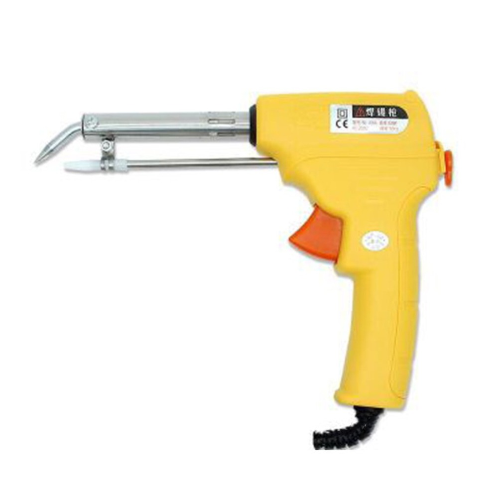 220V 60W Electrical Soldering Iron Gun Hand Welding Tool with Solder Wire Send tin US plug