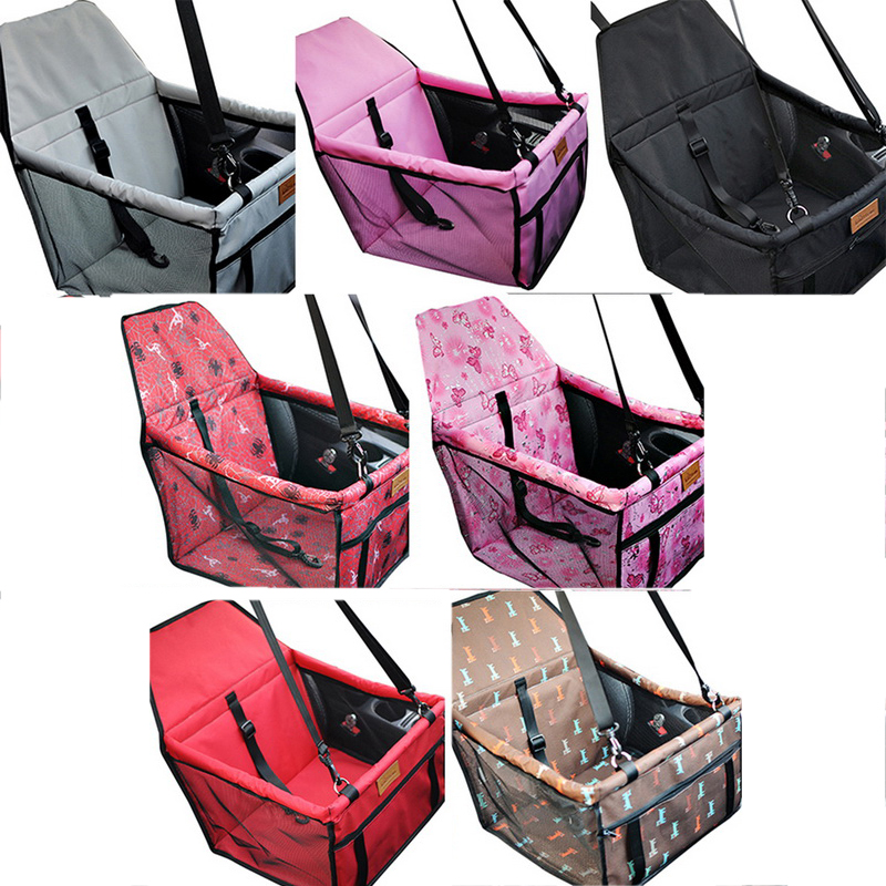 Hoomall Pet Cat Dog Carrier Car Seat Pad Safe Carry House Kitten Puppy Bag Car Travel Waterproof Seat Bag Basket Pet Accessories