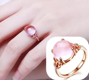 5fc476b54d65 Envío gratis 1 piezas S925 de plata chapado en oro, anillo para mujer,  anillo de plata 925, anillo ...
