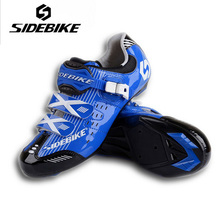 SIDEBIKE Men Women Highway Cycling Shoes Lightweight Road Bike Self Locking Bicycle Racing Athletic Shoes sapatilha
