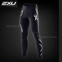 2017 New Brand Clothing 2xu Mens Compression Tights Pants Male Quick Drying Sweatpants