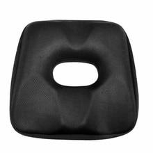 Comfortable Memory Foam Car Seat Cover Cushion Lower Hip Hemorrhoid Health Black msdtoys s6 lower body cover black