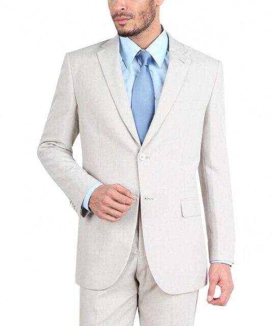 2 Unidades (chaquetas + Pantalones Del Juego) 2017 Nuevos Mens de La Llegada Traje de Marca de Moda Masculina Traje Slim Fit Smokinges Del Novio de la Boda Más El Tamaño