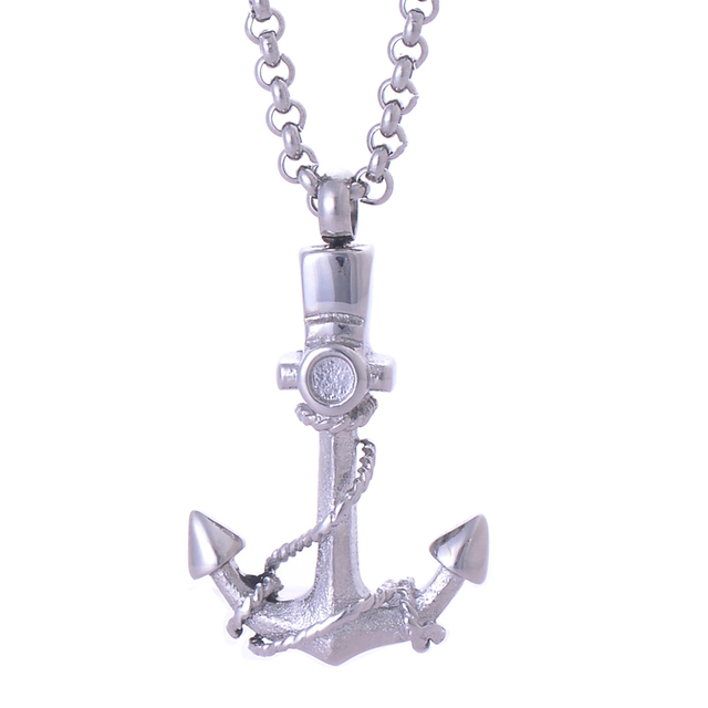Anchor Urn Necklace