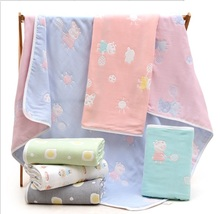 Cotton Baby Blanket Newborn Bedding Infant & Swaddling Bath Towel Swaddle Wrap Room Decor Mantas Bebek