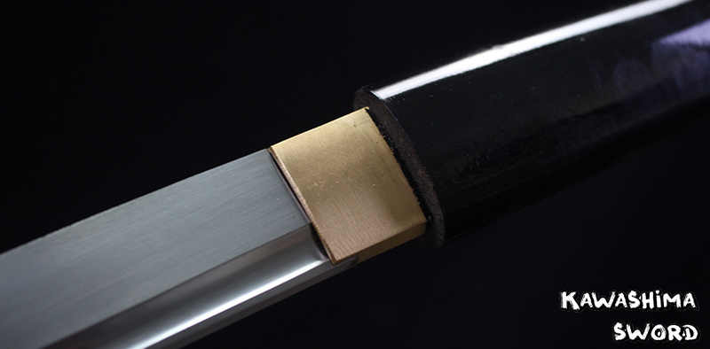 Suministros de artes marciales forjados a mano japoneses Shirasaya Samurai Katana espada afilada 1045 acero al carbono pintura negra brillante