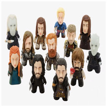 цена Game of Thrones Character model SANSA STARK/TYRION LANNISTER/JAIME LANNISTER/JON SNOW /GHOST Action Figure toys Model toy Doll онлайн в 2017 году