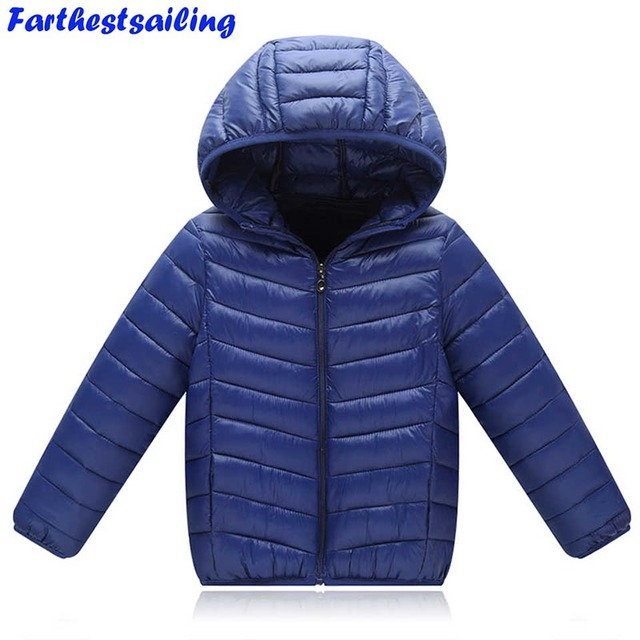 280cc7c0aeae Ultra Light Down Jacket Kids Winter Outerwear Baby Boy Girl Autumn ...