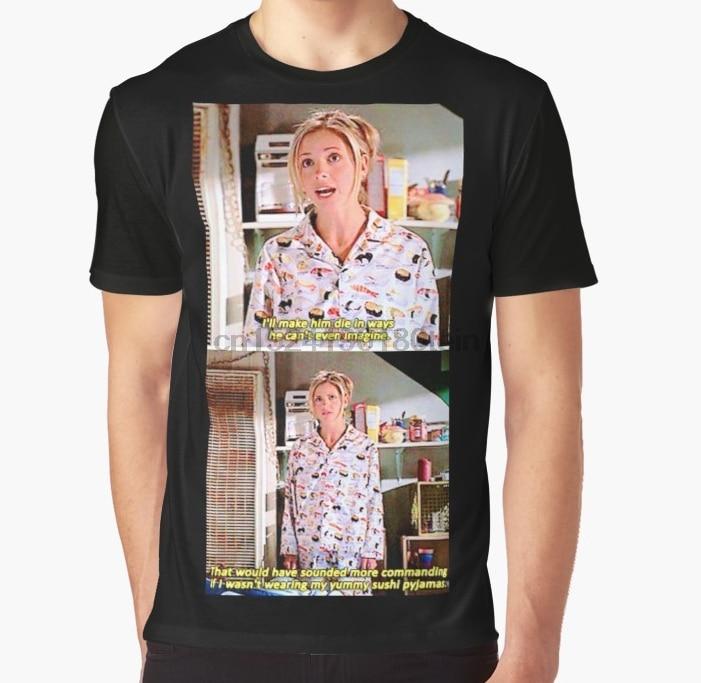 All Over Print 3D Women T Shirt Men Funny Tshirt Buffys Yummy Sushi Pyjamas  Graphic T-Shirt