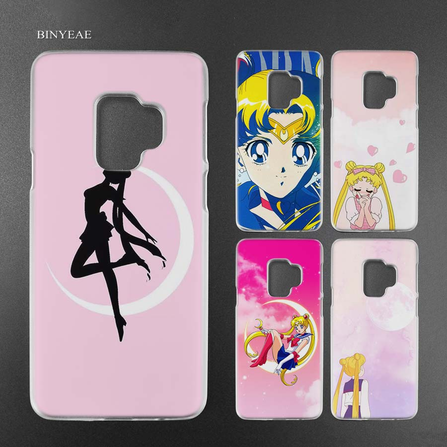 Phone Bags & Cases Tireless Binyeae Sailor Moon Anime Transparent Case Cover Shell For Samsung Galaxy S9 S8 Plus S7 Edge A8 2018 In Many Styles