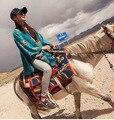 2017 Nepal pashmina quente grossa grande szie arcylic lenço do poliéster de algodão por atacado
