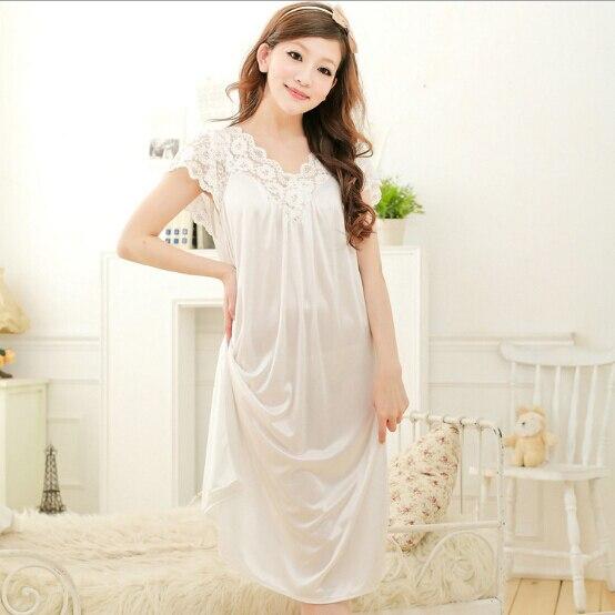 High Quality Woman Summer Pajamas Dress Girl Clothes Sleep
