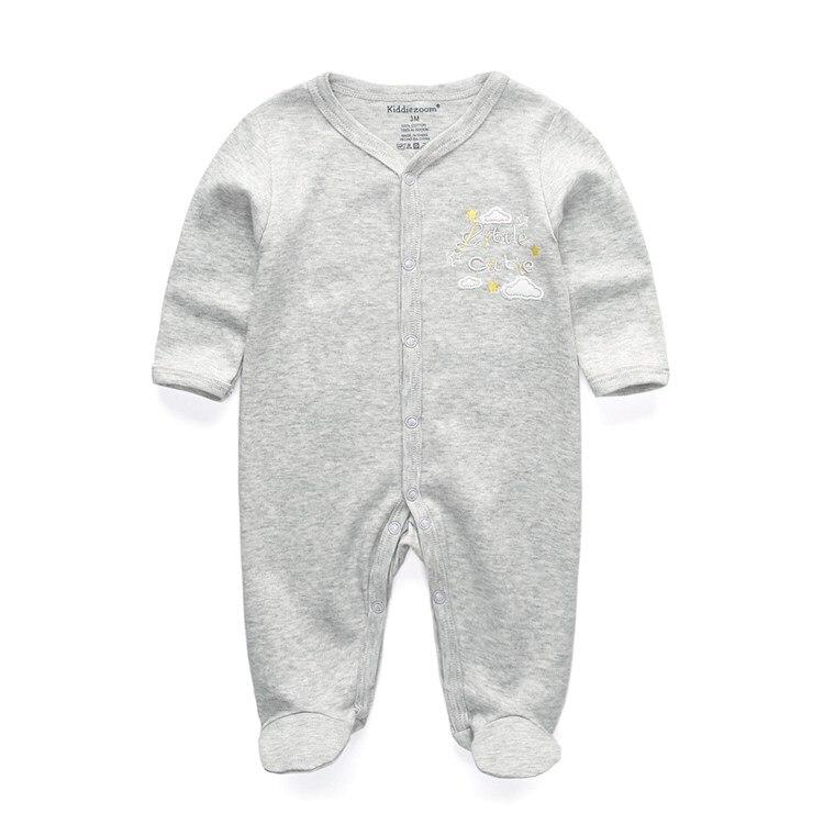 Для маленьких девочек сна; одежда для сна с мультяшным рисунком для малышей Детские пижамы хлопок Длинные рукава Детские пижамы с надписью «i love daddy» детские комбинезоны с рисунками - Цвет: RFL1103