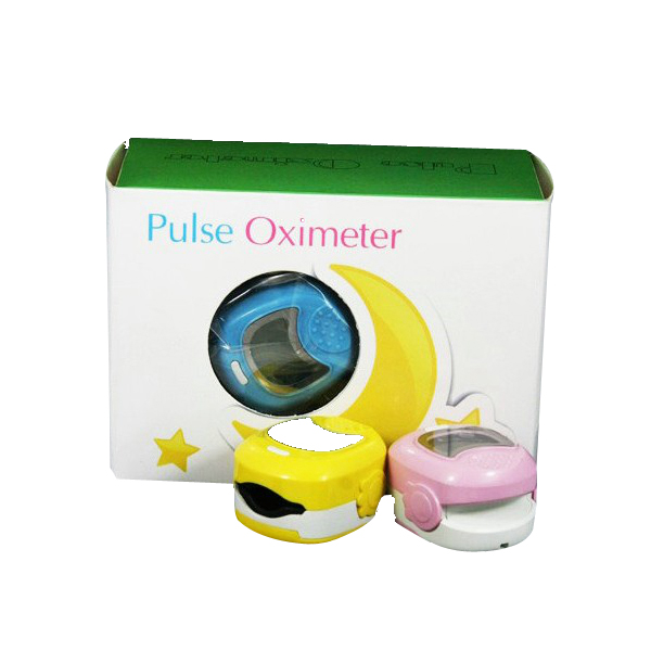 Cute Design for Chilerdn Moniting SPO2 Pulse Rate Oxygen CE Approved Baby Pediatric Fingertip Pulse Oximeter CMS50QA