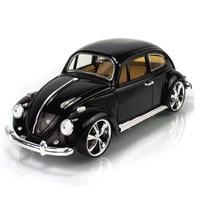 Model Toy 1 32 Scale Volkswagen Beetle 1967 Vintage Diecast Pull Back Car Kids Toys Gift