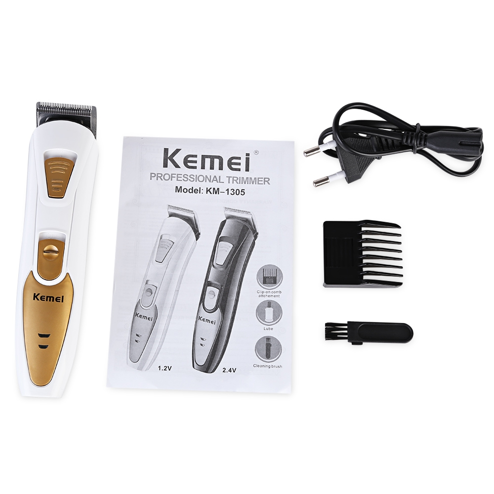 KEMEI Rechargeable Electric Hair Clipper Razor Child Baby Men Electric Shaver Hair Trimmer Cutting Machine to haircut hair kairui fashion full waterproof rechargeable hair clipper trimmer shaver razor cordless adjustable clipper haircut for men baby