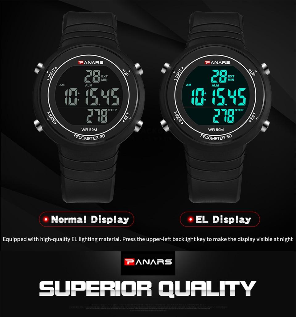 Pedometer Watch Clock Woman Waterproof 50M Outdoor Digital Sports Watch Women Simple Small Bracelet Hand Wrist Watches Hour gift (8)