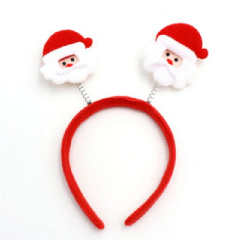 Christmas Headband Png.Novelty Christmas Gift Hairbands Snowflake Santa Claus X Mas