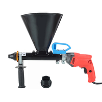 220V Electric Cement Mortar Caulking Gun Door and window Gap Grouting Machine Concrete Grouter 2800RPM 3 15MM Y