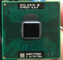 Intel Core 2 Duo P8800 CPU Laptop prozessor PGA 478 cpu 100% arbeits richtig(China)