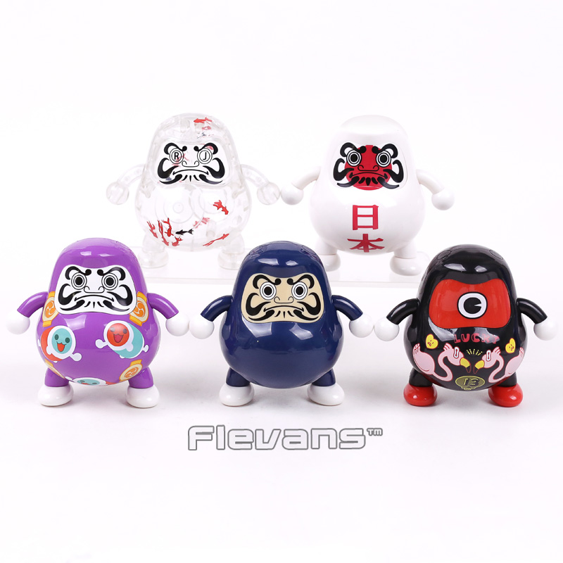 Daruma Club Japan Mascot Doll PVC Figure Collectible Model Toy Gift 10cm 5 Styles 1 6 scale figure doll jurney to the west monkey king with 2 heads 12 action figures doll collectible figure model toy gift