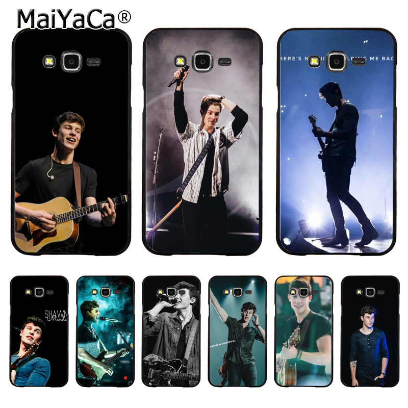 MaiYaCa Hit pop singer Shawn Mendes Magcon Coque Shell Phone Case for Samsung J1 J3 J5 J7 Note 3 Note 4 Note 5