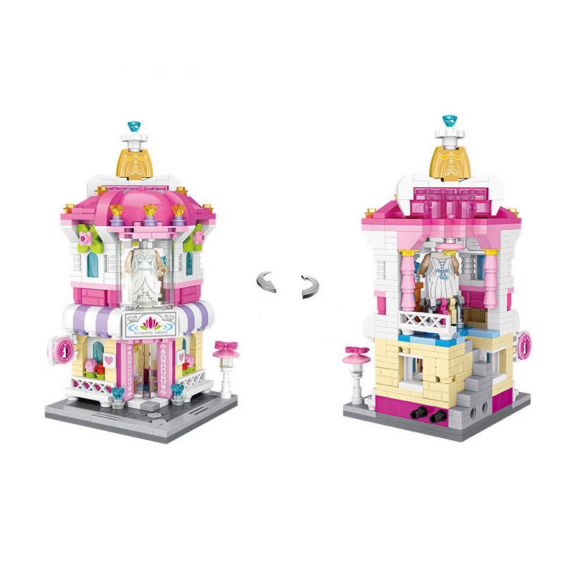 Loz Mini Blocks Street Mini Series Building Blocks Perfume Wedding