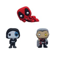 1pcs Deadpool Action Figure Pins Hot PVC Badges Brooches Pinback Button Clothes Bag Accessories Kids DIY Decor Party Gift(China)