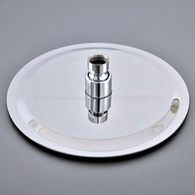8 ( inch ) Modern Style Polished Chrome Round Shape Rain Bath Rainfall Shower head / Bathroom Accessory (Standard 1/2) zsh237