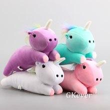 Nuevo 4 colores poco Doble Estrella de unicornio de Kawaii muñecas lindo Peluche de unicornio juguetes 9