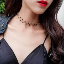 New European and American fashion Korean necklace lady student temperament street photography creative item