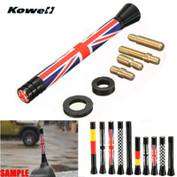 KOWELL Universal Car Auto Roof Radio Antenna FM AM Signal Booster Amplifier Aerials Whip Mast For