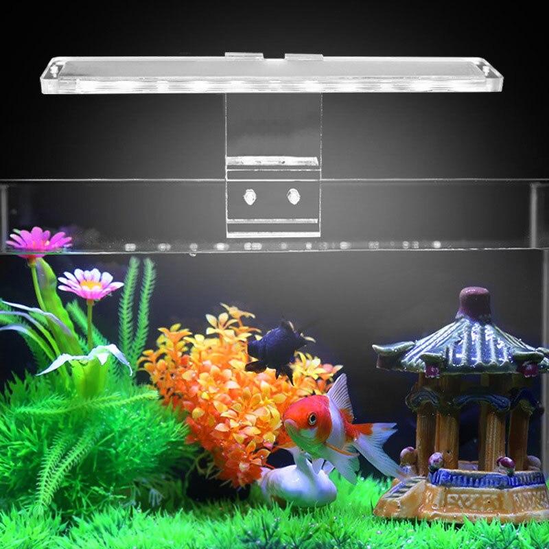 2019 úLtimo DiseñO Mini Pecera Luz Led Acuario Reptil Caja Lámpara Barra Ahorro De Energía Con El Puerto Usb Android Tb Venta Color Rapido