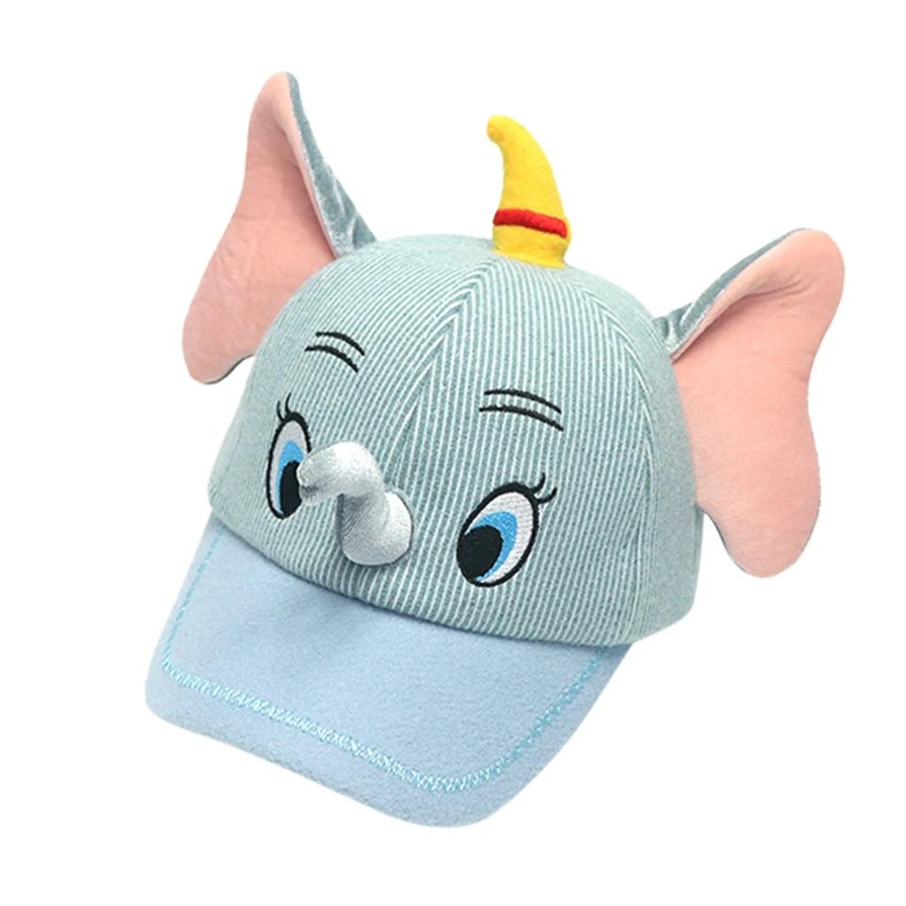 LALANG Baby Baseball Cap Smile Face Dot Print Sun Hat Cotton Soft Hat