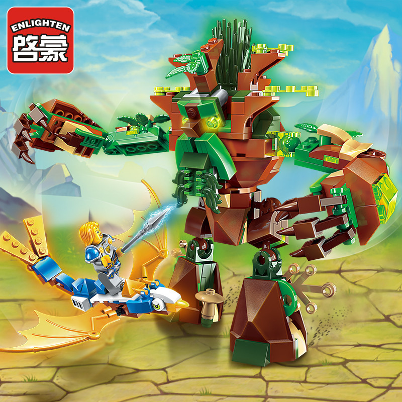 Enlighten Glory War Educational Building Blocks Toys For Children Gift Castle Knight Heroes Weapon Ages of Tree Bird  enlighten castle building block educational building blocks knight balista arrow model blocks playmobil toys for children
