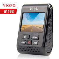 VIOFO A119S Upgrated V2 Version HD Car Dash cam video Camera 1080P 60fps record Novatek 96660 Super Capacitor DVR optional GPS