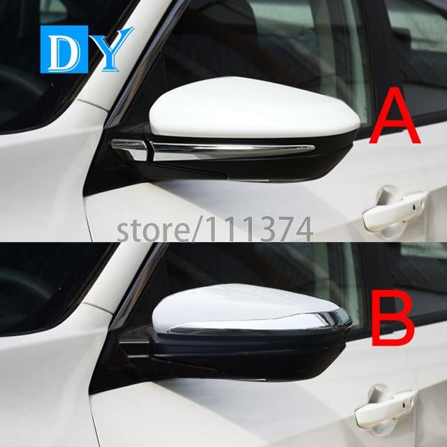LHD ABS espejo retrovisor lateral moldeo Marcos cubierta decoración ...