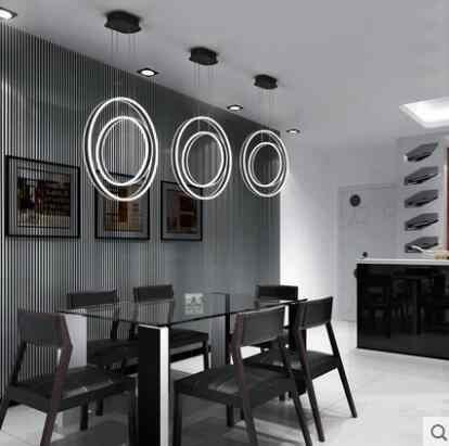 L الحديثة الحد الأدنى LED مكتب قطاع الثريا الإبداعية شخصية خط مصباح الجبهة مكتب دراسة الإنترنت مقهى مصباح إضاءة البار