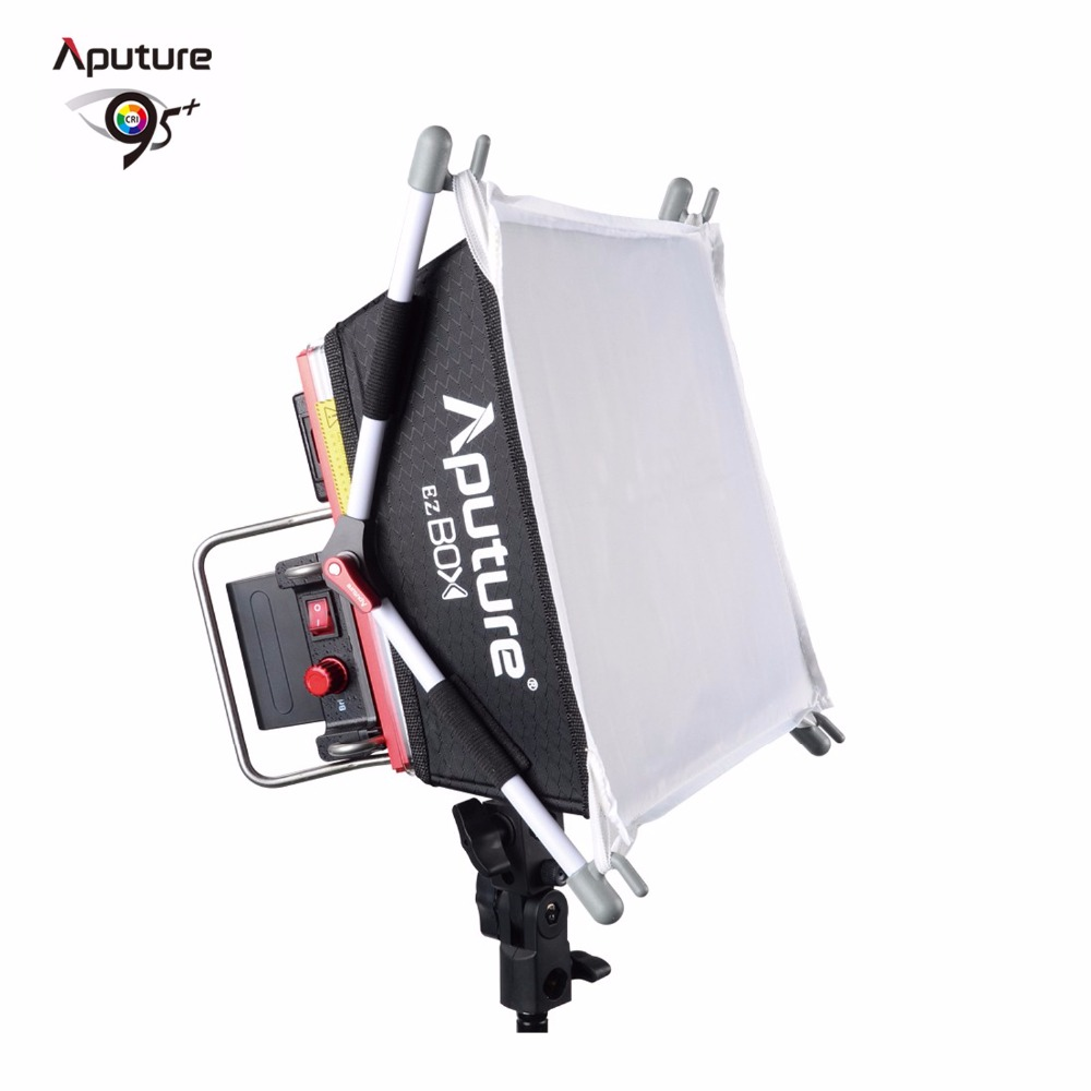 Aputure Amaran Tri 8s led video light panel Color Temperature 5000K With 2pcs NP F970 Battery Remote Kit Easy Box V mount in Photographic Lighting from Consumer Electronics